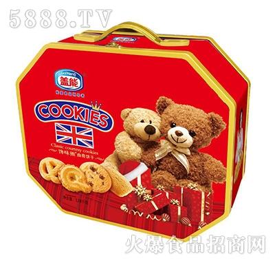 盖能馋味熊曲奇饼干1.08千克
