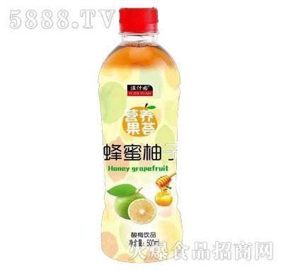 溢汁园蜂蜜柚子柚子味饮品500ml