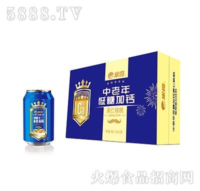 米奇中老年低糖加钙果仁核桃310ml×16罐