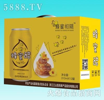 蜂蜜相随蜂蜜醋310mlX12