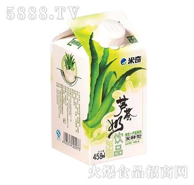 米奇芦荟奶乳酸菌乳饮料458mlX15盒