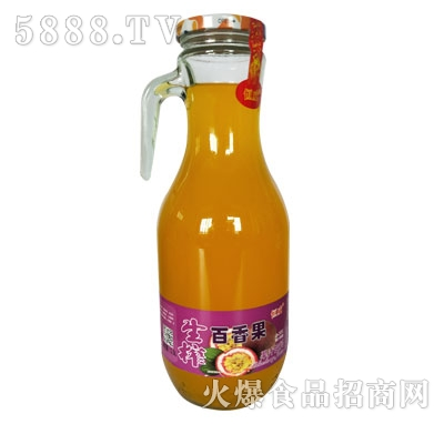 恒威生榨百香果果汁饮料
