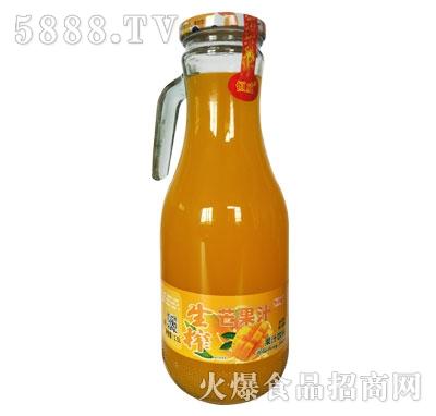 恒威生榨芒果汁饮料