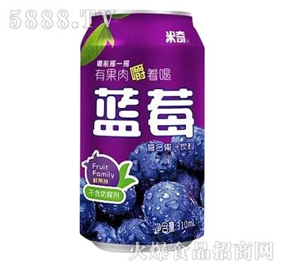 米奇蓝莓汁复合果汁310ml×24罐