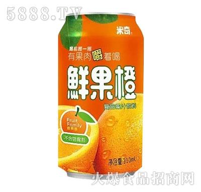 米奇鲜果橙复合果汁310ml×24罐