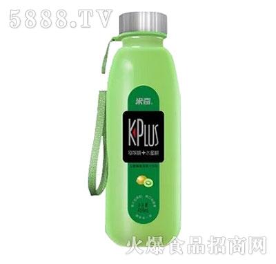 米奇plus猕猴桃水蜜桃复合果汁饮料408ml×12瓶产品图