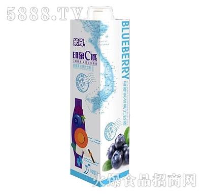 米奇印象C域蓝莓复合果汁饮料1L×8盒