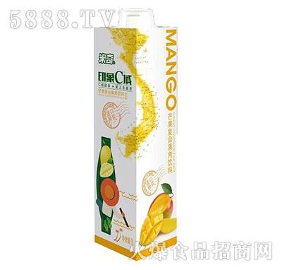 米奇印象C域芒果复合果汁饮料1L×8盒