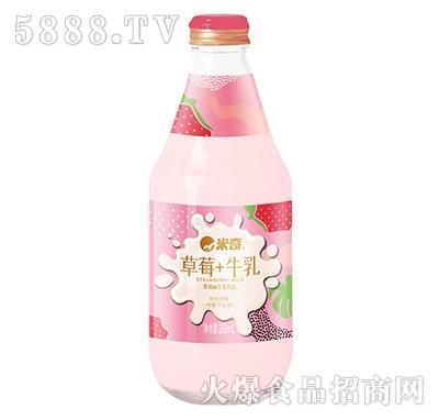 米奇草莓牛乳饮品280ml×12瓶产品图