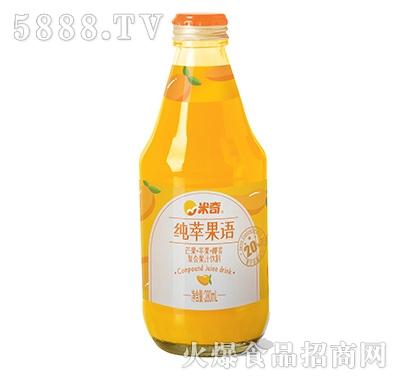 米奇芒果苹果椰浆复合果汁饮料280ml×12瓶