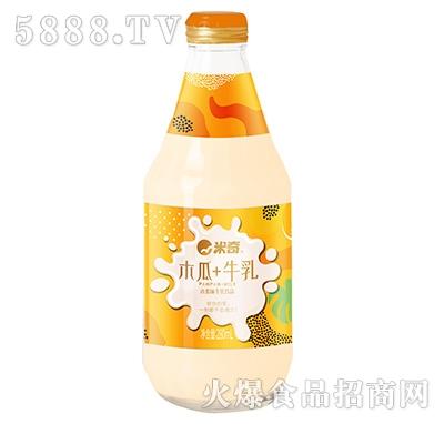 米奇木瓜牛乳饮品280ml×12瓶产品图