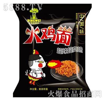 忠伟食品火鸡面超辣超爽味