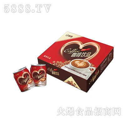 米奇咖啡饮品240ml×12罐产品图
