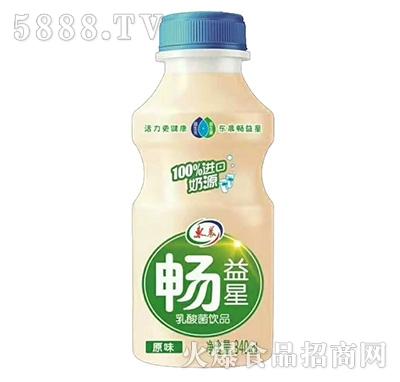 畅益星乳酸菌饮品原味340ml瓶装