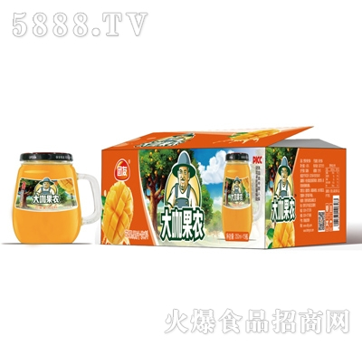 团友大咖果农芒果汁饮料