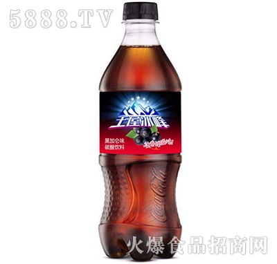 王屋冰峰碳酸饮料黑加仑味