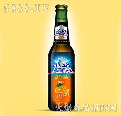 王屋冰峰维生素运动饮料(含汽)香橙味510ml