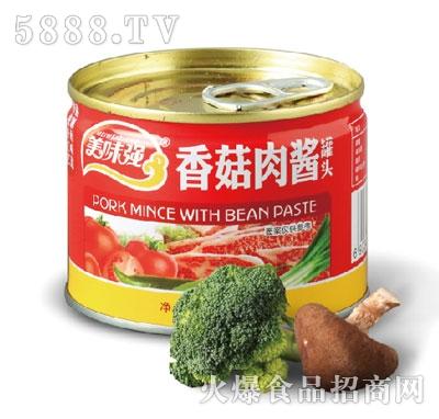 美味强香菇肉酱罐头138g产品图