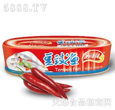 美味强豆鼓鱼罐头150g
