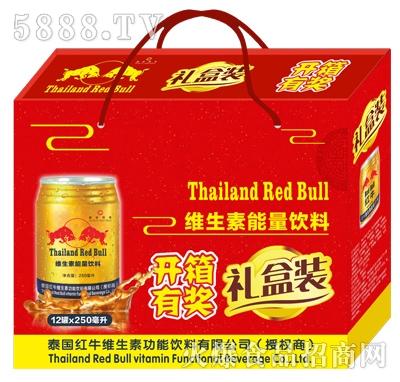 泰国红牛12罐x250ml礼盒装