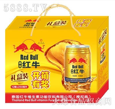 泰国红牛12罐x250ml箱装