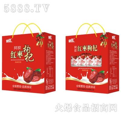 好梦阿胶红枣枸杞风味饮品