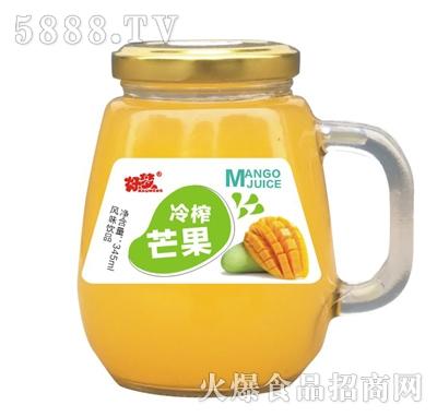 好梦冷榨芒果果汁风味饮品345ml