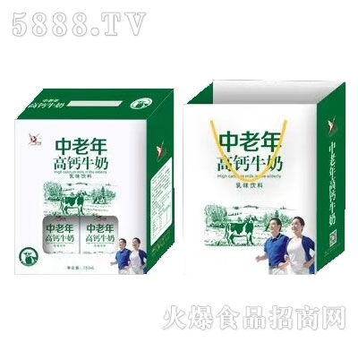 益生园中老年高钙牛奶(礼盒)