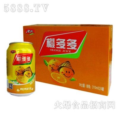 津沅橙多多果味饮料310ml