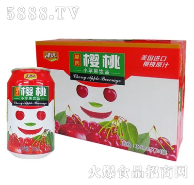 津沅樱桃果味饮料310ml