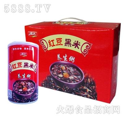 津沅红豆黑米八宝粥320gx1