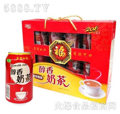 津沅醇香奶茶310mlx10