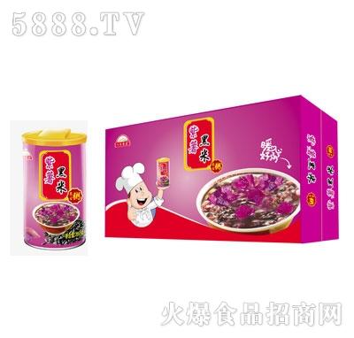 八百农庄紫薯黑米粥(箱)