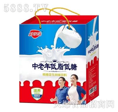 金娇阳中老年低脂低糖核桃花生风味饮料