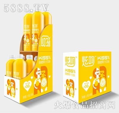 炫吻甜橙果汁饮料1.18Lx8瓶