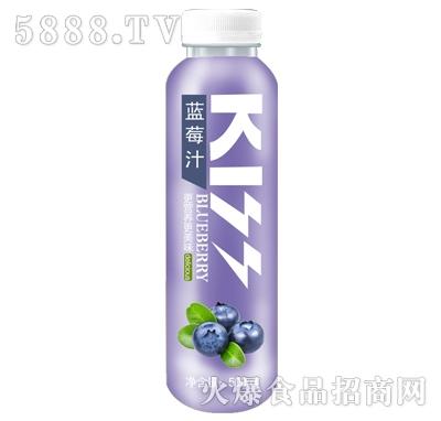 炫吻kiss蓝莓汁饮料500ml