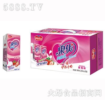 草莓味果优爽酸乳1x20盒