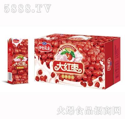伊怡乳业大红枣牛奶1x20盒