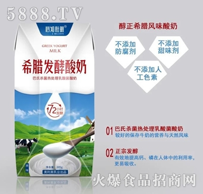 心知肚明发酵酸奶205g