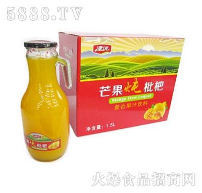 津沅苹果炖枇杷果汁饮品1.5Lx6瓶带把