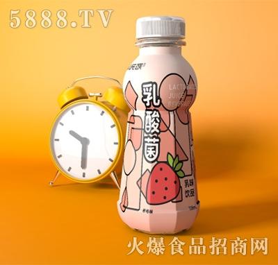 迈芙乳酸菌乳味饮料草莓味