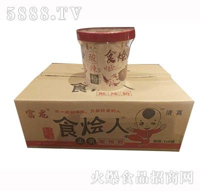 富龙食烩人酸辣粉1x6桶产品图