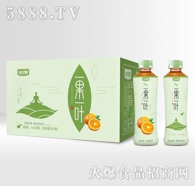 众口妙一果一叶西柚绿茶500mlX15产品图