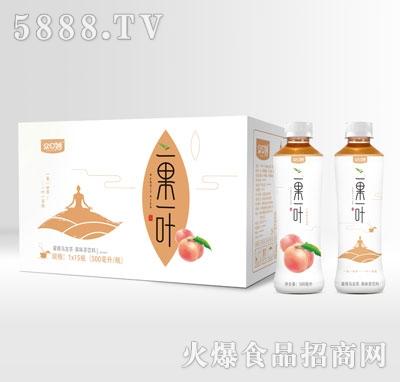 众口妙一果一叶蜜桃乌龙茶500mlX15