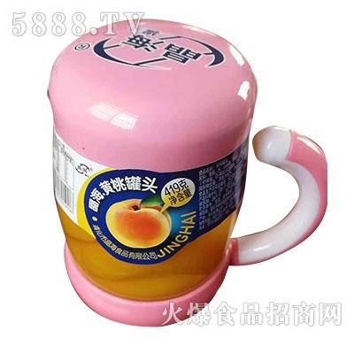 晶海黄桃罐头419g