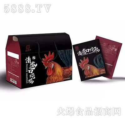 清道口烧鸡产品图