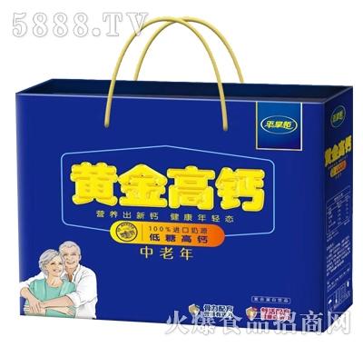 平掌柜黄金高钙低糖高钙中老年奶