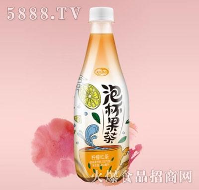 天下水坊泡杯果茶柠檬红茶产品图
