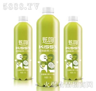 炫吻kiss猕猴桃果汁饮料1.18L