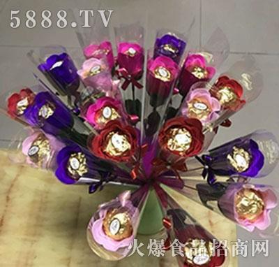 艾迪莎巧克力花型产品图